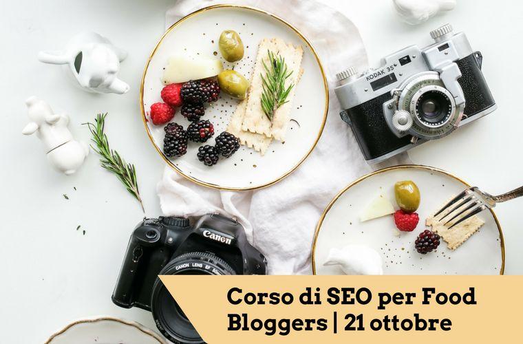 corso seo per food bloggers di ottobre a firenze