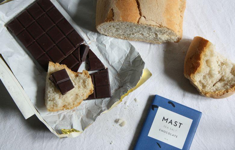 cioccolato di Mast Brothers di New York