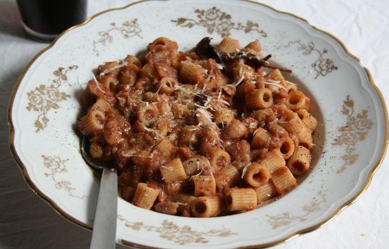 ricetta pasta e fagioli della famiglia di Dean Martin