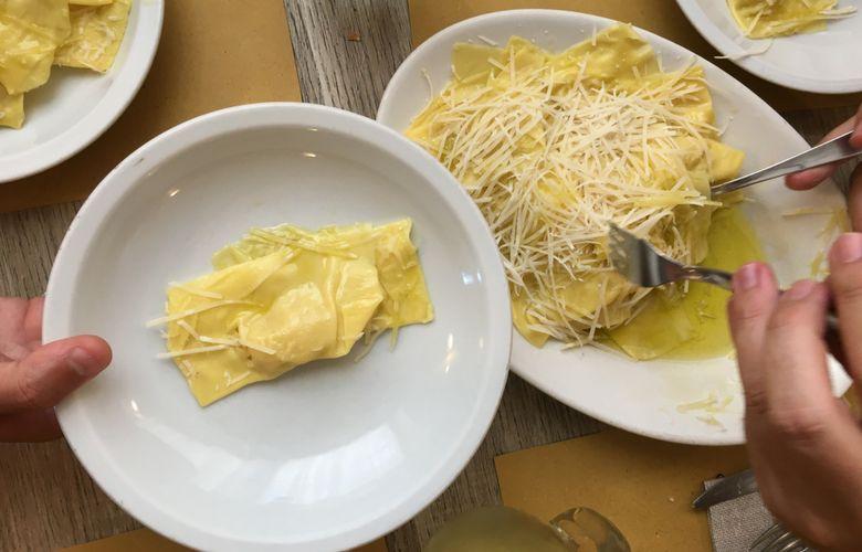 tortelli di patate toscani a Luco del Mugello