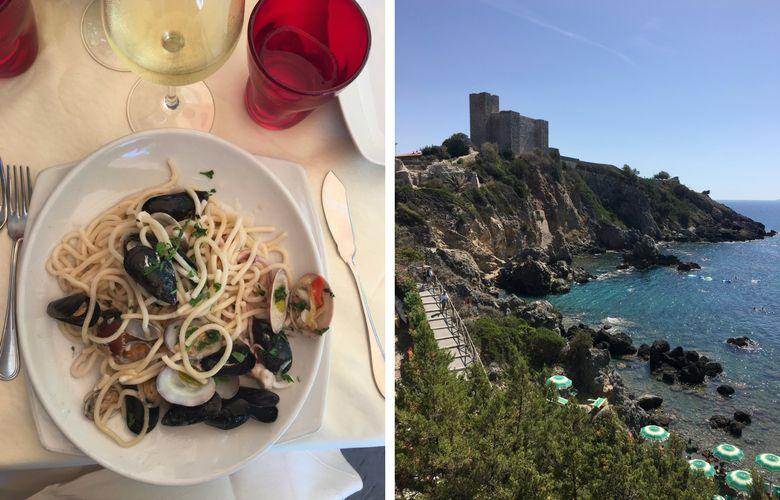 weekend a Talamone: ristorante La Buca