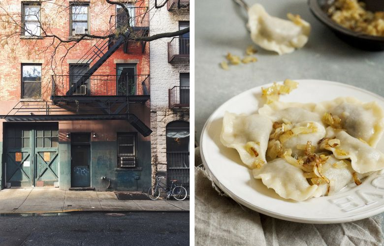 mangiare i pierogi a new york nel quartiere east village