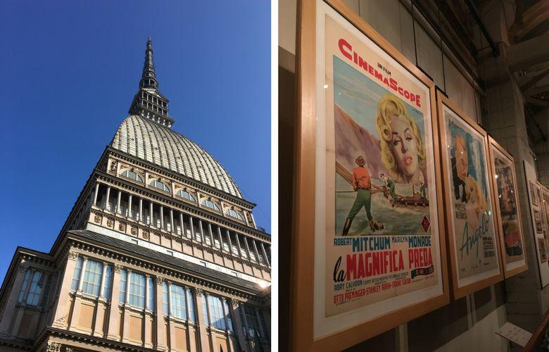 mole e museo del cinema a Torino