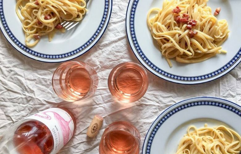 wine pairings for carbonara pasta