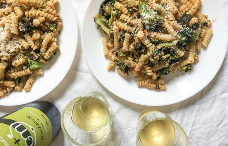cosa bere con la pasta broccoli e acciughe