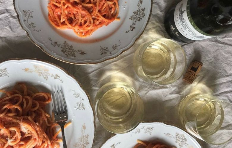 wines for amatriciana pasta