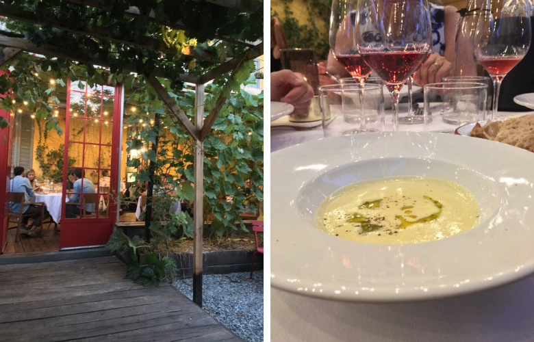 where to eat dinner in milan
