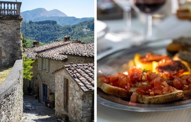 favorite restaurants in garfagnana