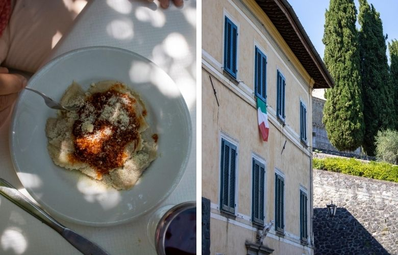 where to eat in Garfagnana