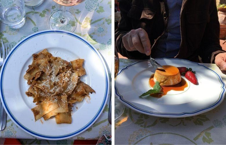 gita fuori porta per mangiare nei dintorni di Firenze