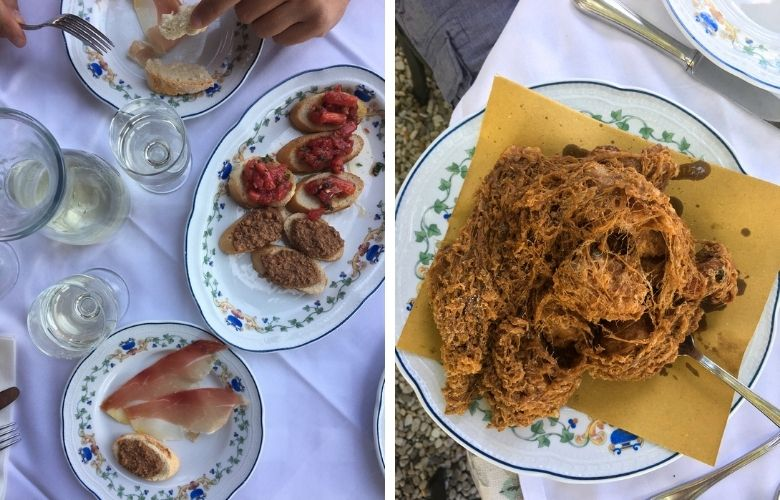 osterie per mangiare nei dintorni di Firenze